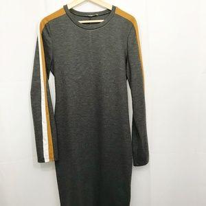 Zara Trafaluc Midi Bodycon Dress XL